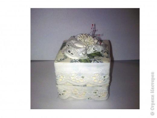 Коробочка подарочная фото 1