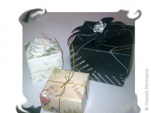 Коробочка подарочная фото 4