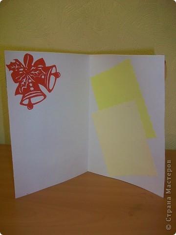 Сделала ещё открытки с Новым годом.  фото 3