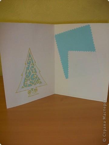 Сделала ещё открытки с Новым годом.  фото 10