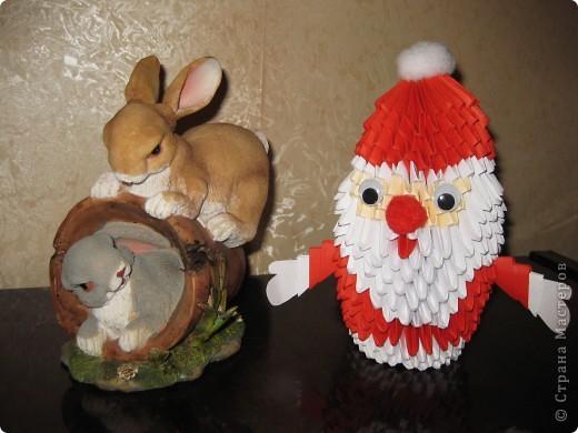 Дед Мороз и зайцы