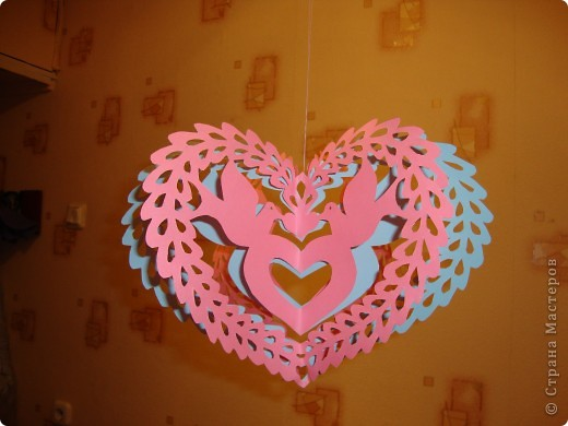 До дня Святого Валентина тоже немного времени осталось, вот и приготовила. фото 1