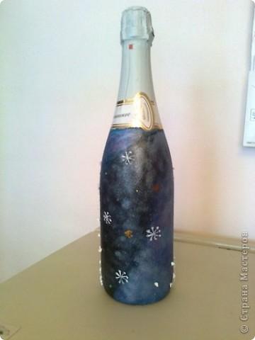 Шампанское для начальника (с его фото) . Пусть почувствует себя Дедом Морозом! фото 2