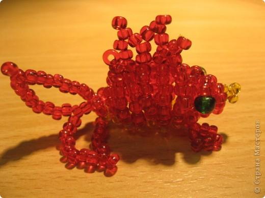 Игрушечки из бисера 3 фото 3