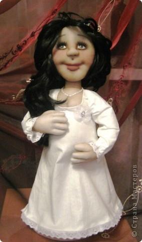 Давно была мысль сделать беременную куклу, и вот она появилась на свет! фото 1