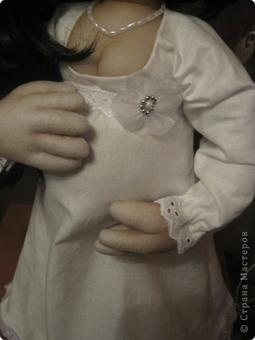 Давно была мысль сделать беременную куклу, и вот она появилась на свет! фото 4