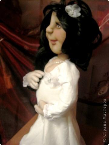 Давно была мысль сделать беременную куклу, и вот она появилась на свет! фото 6
