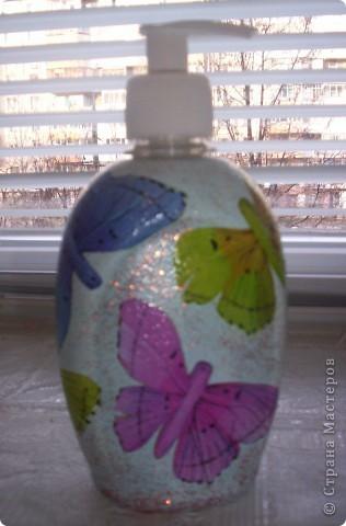 декупаж на бутылках фото 5