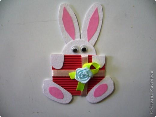 Новогодний кролик-магнит по Мк http://stranamasterov.ru/node/123989?c=favorite фото 1