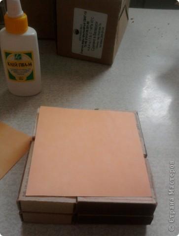 берём 8 пустых спичечных коробков,складываем их как на рисунке фото 2