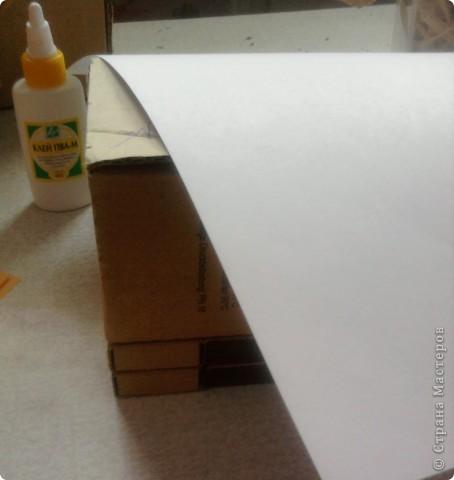 берём 8 пустых спичечных коробков,складываем их как на рисунке фото 5