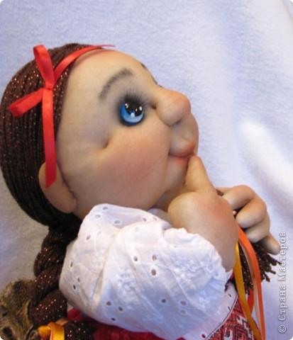 Вот, какая мечтательная украиночка у меня получилась))) Смотрит на звездочку, и желание, свое, девичье загадывает))) фото 4