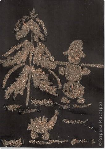 Снеговик в лесу Полины Ефимовой (6л).  фото 2