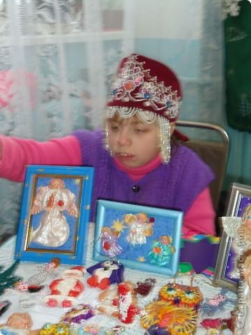 На Рождественской выставке в Александро-Невской лавре. 26.12.2010 фото 1
