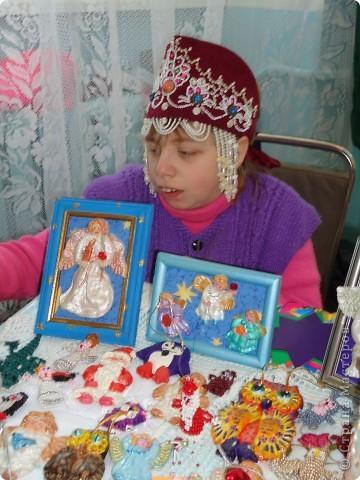 На Рождественской выставке в Александро-Невской лавре. 26.12.2010 фото 2