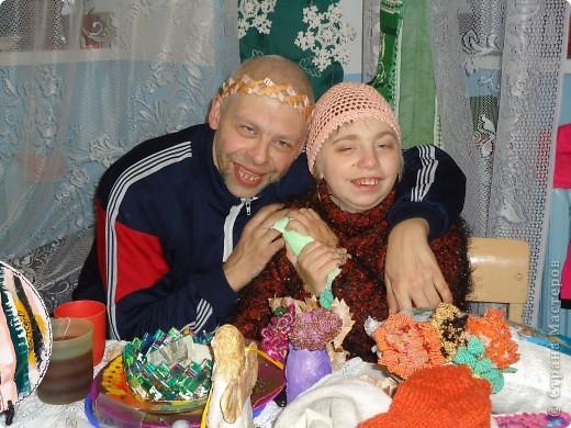 На Рождественской выставке в Александро-Невской лавре. 26.12.2010 фото 3