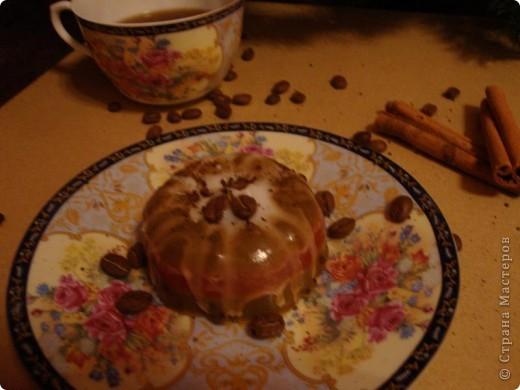 Шоколадно-вишневое пирожное фото 2