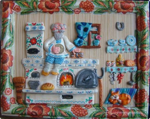 Это моя первая картина, поворюшка сделана с работы Ларисы Ивановой https://stranamasterov.ru/node/91453 Я ее делала для конкурса в садик на тему Украина, времени на нее у меня было два дня, но я уложилась. фото 3