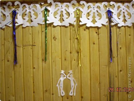 Огромное спасибо OLGA15 http://stranamasterov.ru/node/120847 за этих замечательных зайцев! Ими украшен актовый зал нашей школы! Это при обычном свете, а при неоновом вообще шикарно смотрится! фото 15
