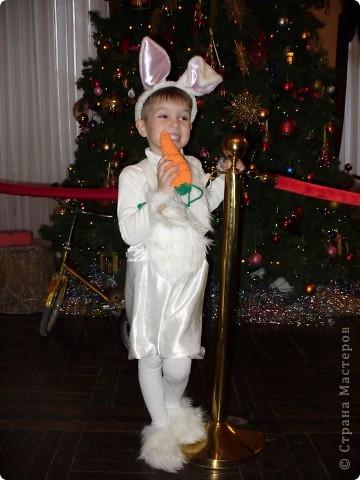 В этом году мой мальчик - зайчик!!!