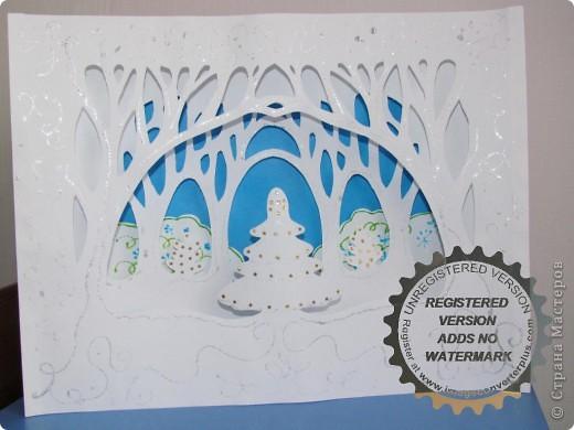 открытки своими руками зимние