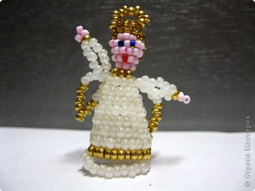 Схема плетения из бисера АНГЕЛА.