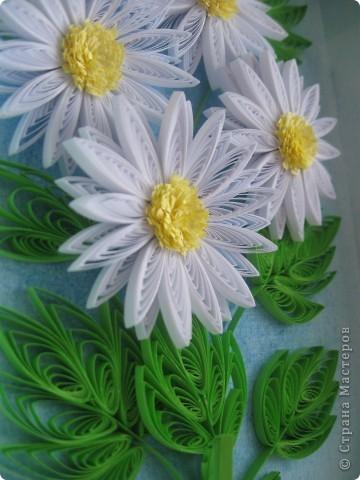 Накопились у меня цветочки и я сделала из них несколько композиций.Решила показать их Вам, пока они без рамок - фотографии без стекла получаются лучше. фото 6