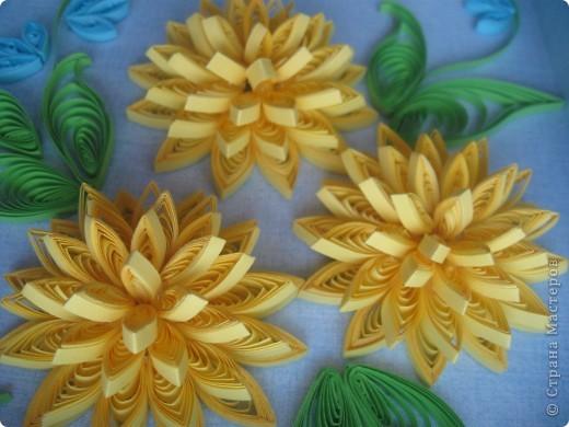 Накопились у меня цветочки и я сделала из них несколько композиций.Решила показать их Вам, пока они без рамок - фотографии без стекла получаются лучше. фото 11