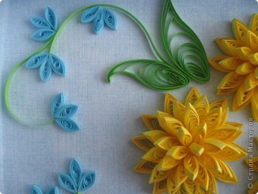 Накопились у меня цветочки и я сделала из них несколько композиций.Решила показать их Вам, пока они без рамок - фотографии без стекла получаются лучше. фото 12