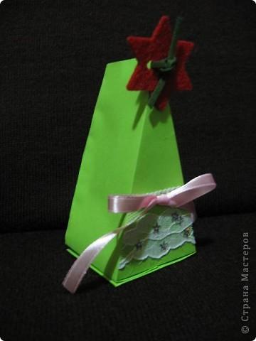 Треугольные ёлки не дают мне покоя. И все, что имеет форму треугольника, я перевожу (в своем больном воображении))))), на елки. Вот вспомнились кусочки торта. фото 7