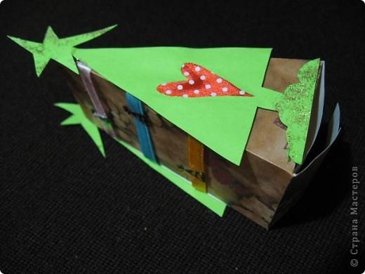 Треугольные ёлки не дают мне покоя. И все, что имеет форму треугольника, я перевожу (в своем больном воображении))))), на елки. Вот вспомнились кусочки торта. фото 8