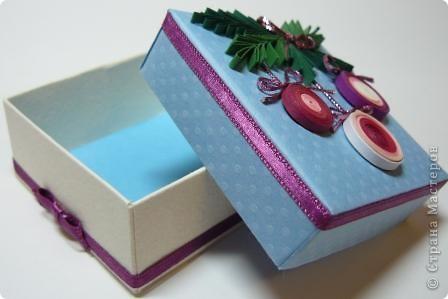 коробочка новогодняя фото 3