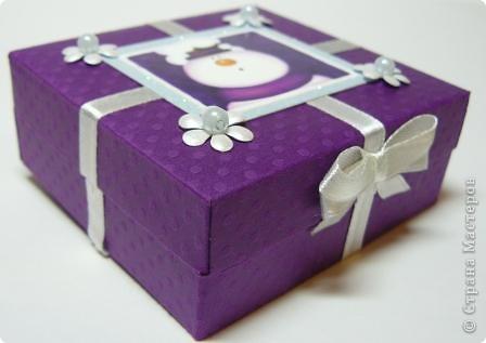 новогодняя коробочка фото 2