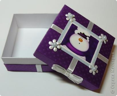 новогодняя коробочка фото 3