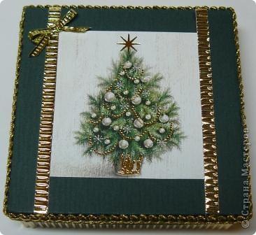 коробочка новогодняя фото 1