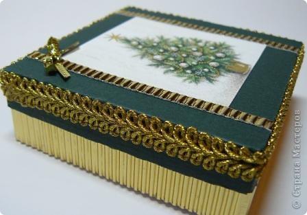 коробочка новогодняя фото 2