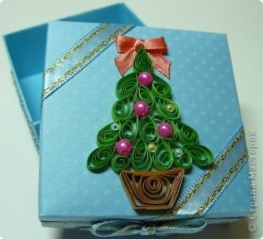 коробочка новогодняя