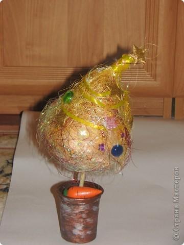 Спасибо за идею для елочки. http://stranamasterov.ru/node/123170 Маша все, кроме конуса смогла сделать сама. фото 3