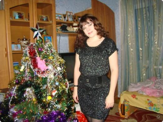Мое новогоднее платье фото 2