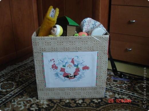 Оформила коробку для дочурки, ей очень понравилось. фото 1