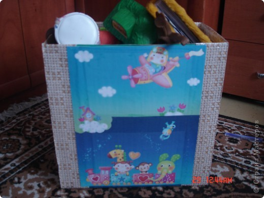 Оформила коробку для дочурки, ей очень понравилось. фото 2