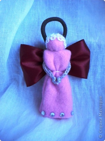 вот мои рождественские ангелы, которых я делала в подарок свои подругам фото 3
