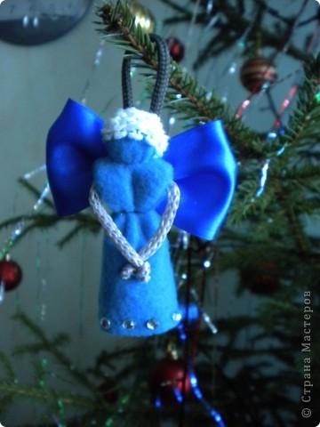 вот мои рождественские ангелы, которых я делала в подарок свои подругам фото 4