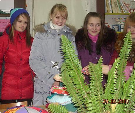 Сегодня, в последний день второй четверти мы с моими девятиклассницами развозили подарки... фото 42