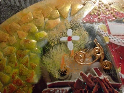 Вчера подруга подарила мне блюдо для торта из зеркального полотна. фото 4