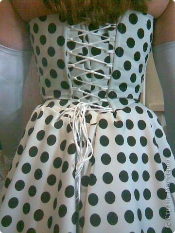 Платье сшито для выступления в академ.концерте муз.школы. Юличка у нас поет! фото 4