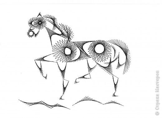 Страна мастеров лошади вышитые
