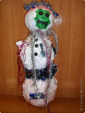 Вот такой веселый снеговик поселился у нас в классе фото 1