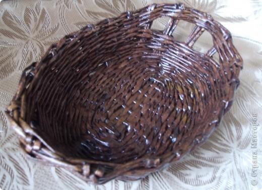 вазочка-корзинка под фрукты
