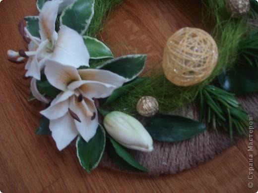 венночек с лилией фото 3